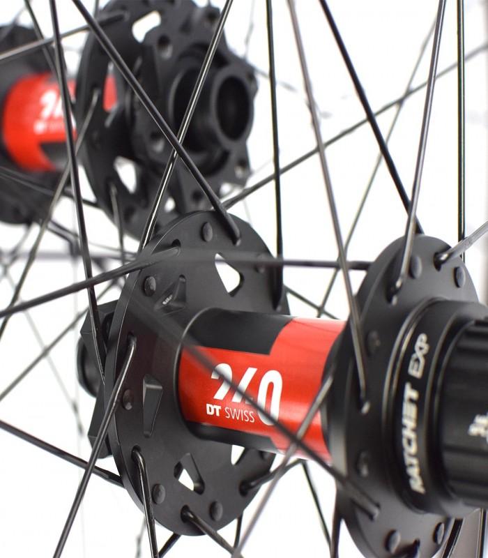 "Ruedas de Aluminio MTB 27.5 "": DT EX 471, DT Swiss 350 y Race"