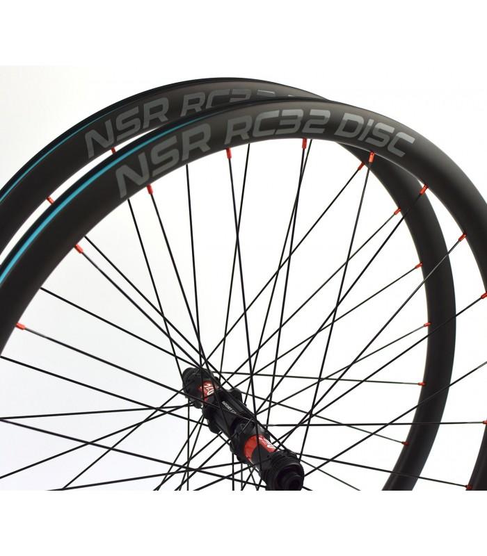 29 pulgadas carbono: NSR AM29, DT Swiss 240 y Leader juego de ruedas