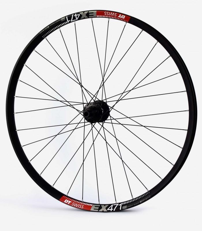 26 pulgadas: ZTR Arch EX, DT Swiss 350 y CX-Ray o D-Light juego de ruedas