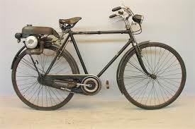 Carretera: bici antigua