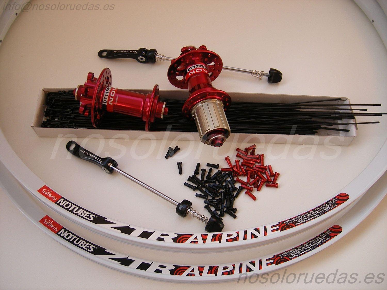 Elementos para el montaje de tus ruedas de bicicleta en oferta