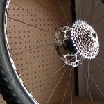 Quitar y poner el cassette de una rueda de bici