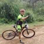 David García, del Nosoloruedas Bike Team, en la Dolorosa