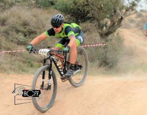 Mario, del Nosoloruedas Bike Team, ha aligerado su bici con unas ruedas de carbono NSR XC 29