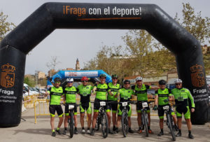 El Nosoloruedas Bike Team en Fraga