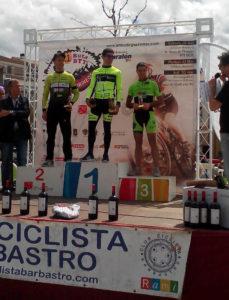 Otro podio para el Nosoloruedas Bike Team