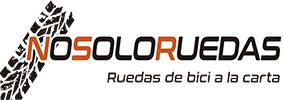 Logo de Nosoloruedas, tienda especializada en la venta de ruedas ligeras de bicicleta de calidad.