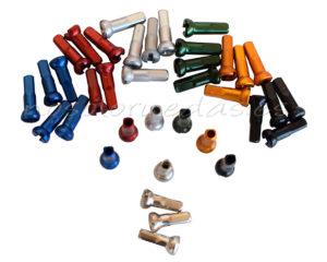 Nosoloruedas ofrece las cabecillas Sapim SILS Polyax en varios colores.