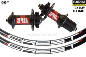 Nosoloruedas vende distintas ruedas ligeras con cabecillas Sapim SILS Polyax.