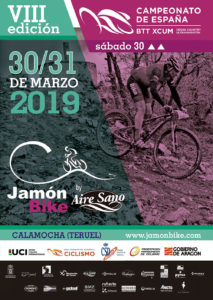 Cartel 2019 Calamocha Jamon Bike